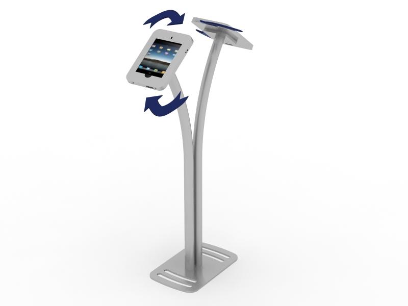 Display Search Reo 1240 Dual Ipad Kiosk Rental