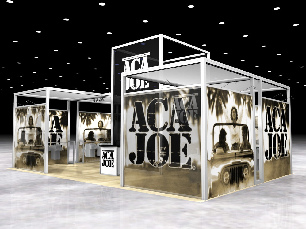 Exhibition Stand Graphic Design : Display search re aca joe island rental