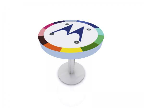 MOD-1468 Trade Show and Event Wireless Charging Table -- Image 1