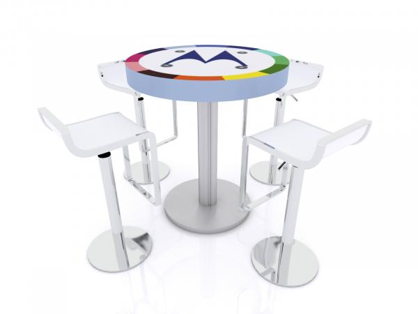 MOD-1468 Trade Show and Event Wireless Charging Table -- Image 2
