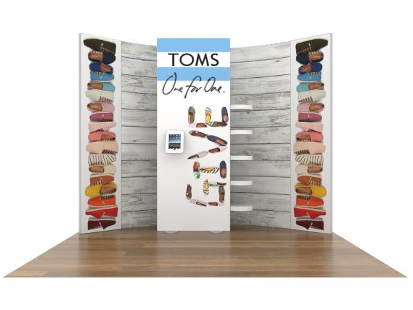ECO-1118 Sustainable Tradeshow Inline Display -- Image 3