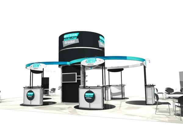ECO-7004 Sustainable Tradeshow Display -- Image 1