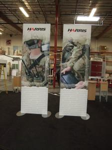 3 ft x 10 ft SEGUE Two-sided Frames with Silicone Edge Graphics (SEG) -- Image 1
