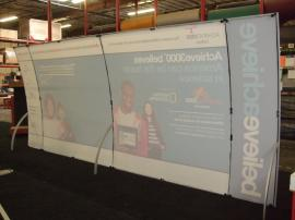 VK-2091 Magellan Miracle Hybrid Display with Tension Fabric Graphics and LTK-1001 Modular Counters --Image 2