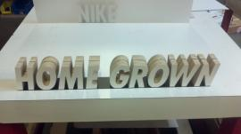 Custom CNC Cut Letters for Retail Application -- Image 2