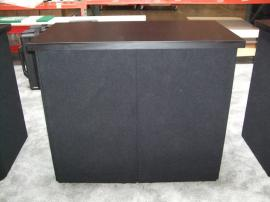 DI-614 Portable Fabric Counter with Shelf -- Image 1