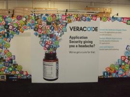 Custom Visionary Designs Inline Display with Tension Fabric and Direct Print Graphics -- Image 2