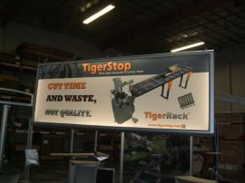 Custom Two-sided Hanging Lightbox with Silicone Edge Graphics (SEG) -- Image 1