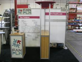 Modified ECO-1016 with Custom Canopy, Bar Counter, and Free-standing Kiosk -- Image 1