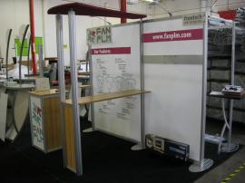 Modified ECO-1016 with Custom Canopy, Bar Counter, and Free-standing Kiosk -- Image 2