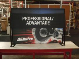 TF-404 Aero Table Top Portable Display with Tension Fabric Graphics -- Image 2
