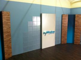 Custom Television Studio Set Design and Build with Modular Components -- Image 1