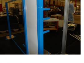 Visionary Designs Custom Hybrid Display Powder-coated Blue (shown without graphics) -- Image 2