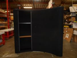 QD-107 Quadro S Pop Up Display with Internal Shelves -- Image 1