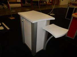 MOD-1176 Modular Pedestal with Locking Storage -- Image 2