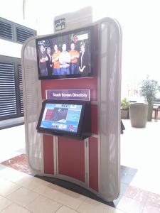 Three-sided Wayfinder Kiosk Built for an Upscale Mall -- Image 2
