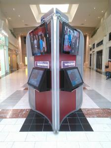 Three-sided Wayfinder Kiosk Built for an Upscale Mall -- Image 3