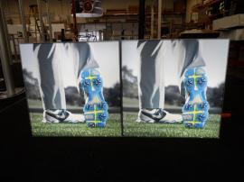 Enclosed SuperNova LED Lightboxes with Tension Fabric Graphics for a Retail Application -- Image 1