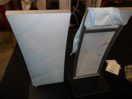 (2) MOD-1363 iPad Kiosk Curved Kiosks with Silicone Edge Graphics -- Image 2