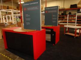 Custom Laminated Counters with Silicone Edge Graphics and Locking Storage -- Image 1