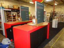 Custom Laminated Counters with Silicone Edge Graphics and Locking Storage -- Image 2