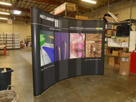 Quadro EO-4B Pop Up Display with Mural Graphics -- Image 2