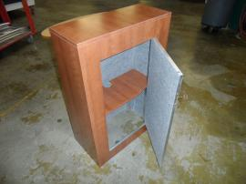 LTK-1119 Modular Pedestal with Shelf and Locking Storage -- Image 2