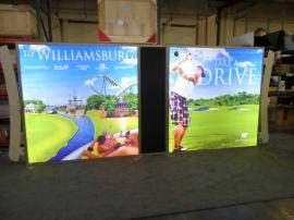 VK-2940 SEGUE SuperNova Lightboxes with Tension Fabric Graphics