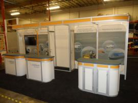 Custom Visionary Designs Hybrid Exhibit with Re-configurable 10 x 10 Options -- Image 1