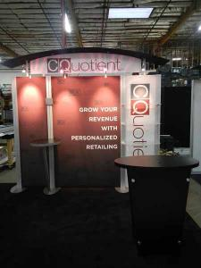 RENTAL: (6) 10' x 10' Rental Exhibits -- RE-1004, RE-1008, RE-1012, and RE-1015 -- Image 1