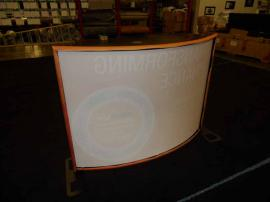 TF-407 Aero Portable Table Top Display with Tension Fabric Graphics -- Image 2