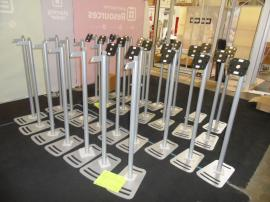 (30) MOD-1369 iPad Stands (shown without the clamshell or graphics)
