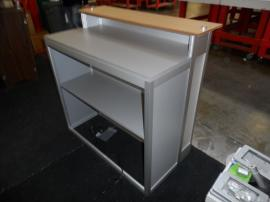 Modified MOD-1525 Backlit Counter with Locking Storage and Shelf -- Image 3