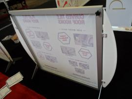 Custom Size SEGUE Table Top Display with Silicone Edge Graphics -- Image 2