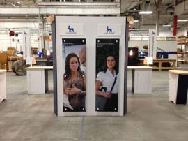 Re-configurable Custom Exhibit -- 10 ft. inline, 20 ft. inline, and 20 ft. Island -- Image 1