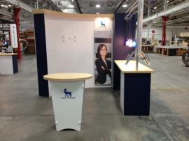 Re-configurable Custom Exhibit -- 10 ft. inline, 20 ft. inline, and 20 ft. Island -- Image 3