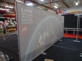 Custom Visionary Designs with Tension Fabric Graphics, Standoff Graphics, and LED Edge Lighting -- Image 2