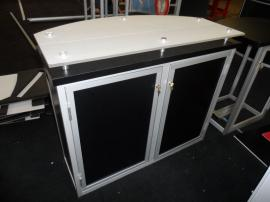 (2) Custom Modular Counters with Locking Storage -- Image 2