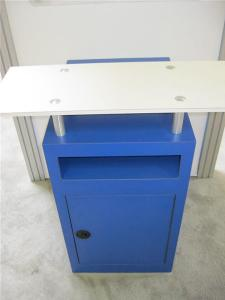 MOD-1163 Workstation with Storage and Downlighting -- Image 2