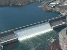 Grand Coulee Dam -- Depression Era Project Built By Classic Exhibits -- Image 1