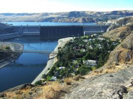 Grand Coulee Dam -- Depression Era Project Built By Classic Exhibits -- Image 3