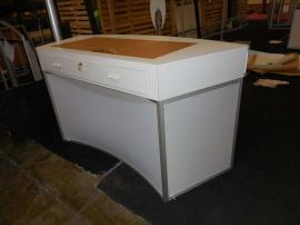 Custom Laminated Wood Counter with Drawer Compartments -- Image 2