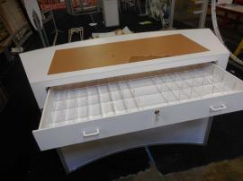 Custom Laminated Wood Counter with Drawer Compartments -- Image 3