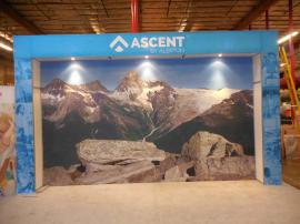 Custom Silicone Edge Fabric Graphic Wall (SEG) and Large SEG Display Storage Area -- Image 1