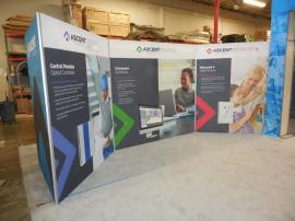 Custom Silicone Edge Fabric Graphic Wall (SEG) and Large SEG Display Storage Area -- Image 2