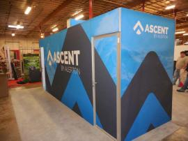 Custom Silicone Edge Fabric Graphic Wall (SEG) and Large SEG Display Storage Area -- Image 3