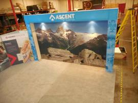 Custom Silicone Edge Fabric Graphic Wall (SEG) and Large SEG Display Storage Area -- Image 4