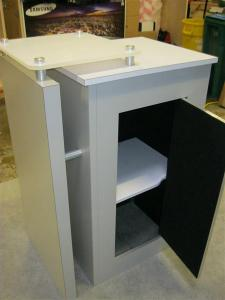 eSmart ECO-33C Counter with Locking Storage -- Image 3