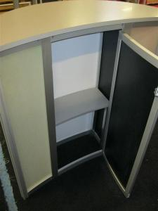 ECO-5C Counter with Eco Glass and Locking Storage -- Image 3