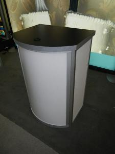 RENTAL:  RE-1221 Curved Pedestal -- Image 6